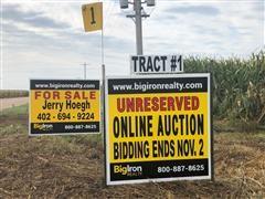 Tract 1:  164.82+/- Acres Hamilton County, NE