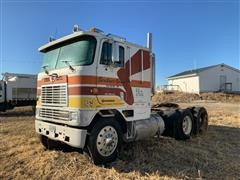1987 International Eagle 9670 T/A Cabover Truck Tractor (INOPERABLE)