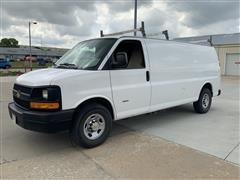 2011 Chevrolet Express 3500 4X2 Extended Cargo Service Van