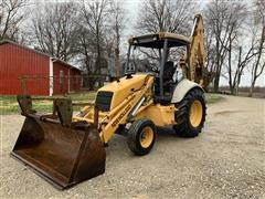 1997 New Holland 555E 2WD Loader Backhoe
