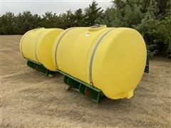 John Deere 1,000 Gallon Saddle Tanks