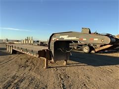 2007 Eager Beaver 50GLB (Rated 50 Ton) Tri/A Fixed Neck Lowboy Trailer