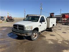 2007 Dodge 3500 4x4 Service Truck