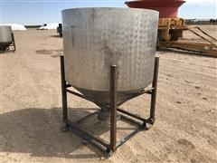 Stainless Steel Tank On Stand