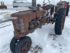 Farmall H 2WD Row Crop Tractor
