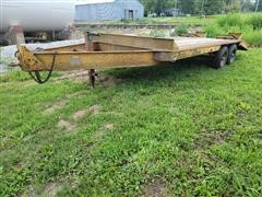 1975 General T/A Flatbed Trailer