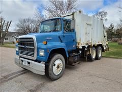 1996 Ford L7000 T/A Garbage Truck