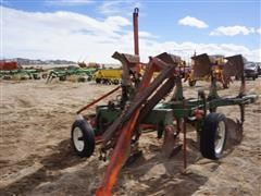 Oliver 4 Bottom Spinner Plow & Packer
