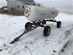 Duo Lift 1000 Gallon Anhydrous Nurse Tank