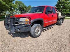 2001 GMC Sierra K2500 HD 4x4 Pickup Truck