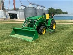 John Deere 3320 Compact Utility Tractor W/Loader & Mower