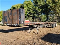 1999 Lufkin Feather Light T/A Flatbed Trailer