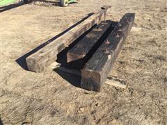 Wooden Bridge Timbers