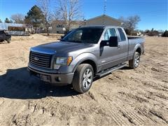 2011 Ford F150 4x4 Extended Cab Pickup
