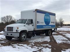 1999 GMC 6500 S/A Dry Van Box Truck