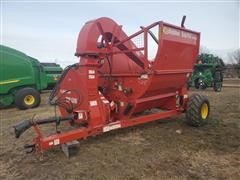 2017 Highline CFR650 With TopGun Blower Bale Processor