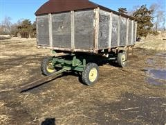 Homemade Covered Wagon