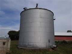 8513 Grain Bin W/Channel-Lock Aeration Floor