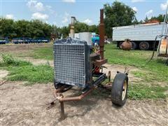 Chevrolet Power Unit On Cart