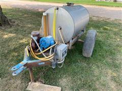 Chemigation Pump w/ Tank