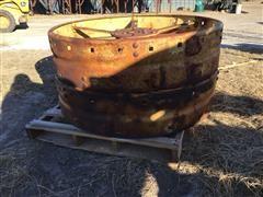 John Deere D Steel Wheels