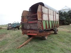 Balzer Front Unload Silage Wagon