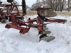 Case IH 165 6 Bottom Roll Over Plow W/ACE Packer