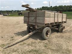 Wood Wagon 6'x10' Cross End Gate Seeder