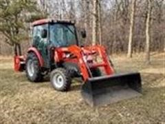 2011 McCormick X10.50CH MFWD Tractor W/Loader & Snow Blower