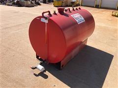 Steel Tank Fabrication 300-Gal Free Standing Fuel Storage Tank