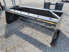 Wemhoff SP Box Scraper Skid Steer Attachment