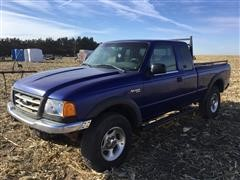 2003 Ford Ranger 4x4 Extended Cab Pickup (INOPERABLE)