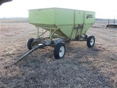 Parker 140 Bushel Grain Cart On 4 Electric Wheel Running Gear