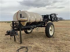 Wylie 1000-Gallon Pull-Type Sprayer W/60' Booms