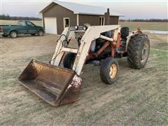 1965 Ford 5000 2WD Tractor W/Great Bend Quick Tach Loader