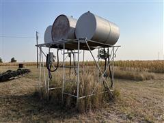 Fuel Storage Tanks W/Stand