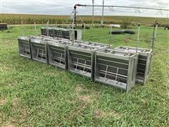King Systems Stainless Steel Hog Feeders