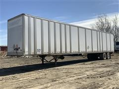 1998 Great Dane 53' T/A Plate Enclosed Dry Van Trailer