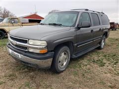 2001 Chevrolet Suburban K1500 4x4 SUV