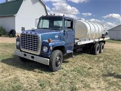 1974 Ford 800 T/A Flatbed Truck