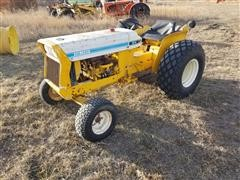 1972 International Lo-Boy 154 2WD Utility Tractor W/Mower Deck