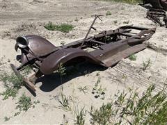 Antique Car Frame