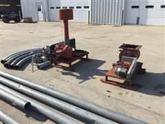 DMC Transfer 1500 Pneumatic Grain Blower System
