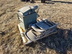Empire UH-1075-FSP Heater & Chairs