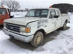 1989 Ford F150 2WD Extended Cab Pickup (INOPERABLE)