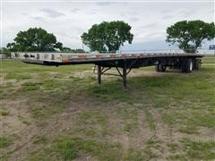 2004 Transcraft Eagle RS2 53' T/A Flatbed Trailer