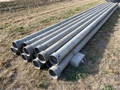 "Rainway 8"" Aluminum Non-gated Mainline Irrigation Pipe"