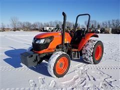 2016 Kubota M6060 MFWD Tractor