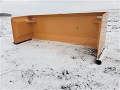 2020 Industrias America SP08 8' Wide Snow Pusher Skid Steer Attachment