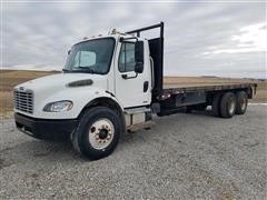 2005 Freightliner M2-106 T/A Flatbed Truck